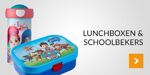 Lunchboxen & schoolbekers