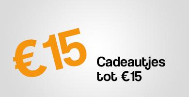 Cadeautjes tot €15
