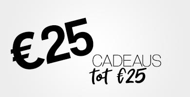 Cadeaus tot €25