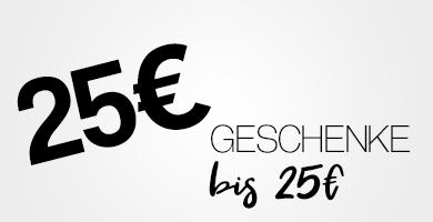 Geschenke bis 25€