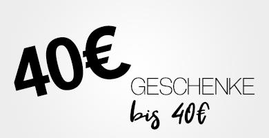 Geschenke bis 40€