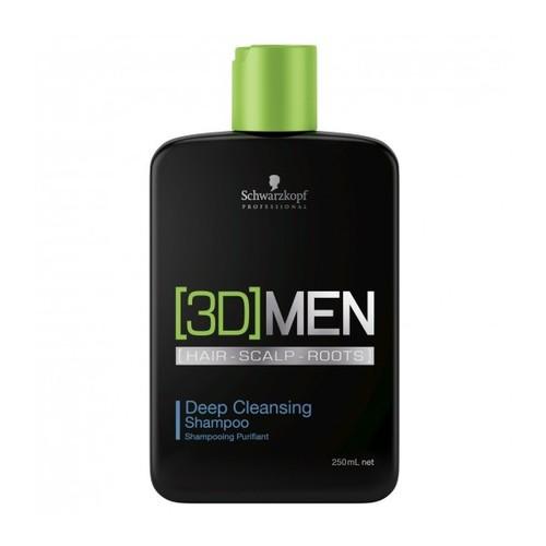 Schwarzkopf 3D Men Deep Cleansing Shampoo