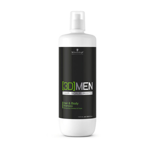 Schwarzkopf 3D Men Hair & Body Shampoo