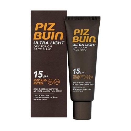 Piz Buin Ultra Light Dry Touch Face Fluid 50 ml SPF 15