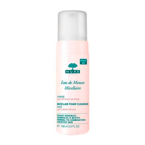 NUXE Micellar Foam Cleanser With Rose Petals 150 ml
