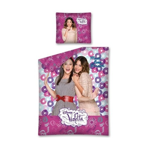Disney Violetta dekbedovertrek cirkel