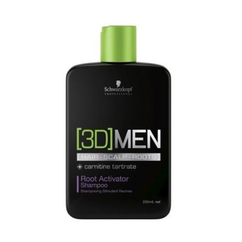 Schwarzkopf 3D Men Root Activator Shampoo