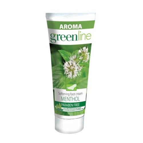 Aroma Green Line Menthol Softening Foot Cream 75 ml