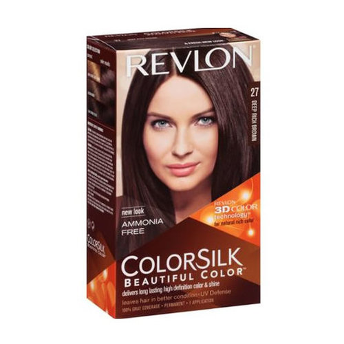 Revlon ColorSilk Beautiful Color 27 Deep Rich Brown