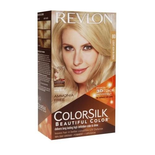 Revlon ColorSilk Beautiful Color 80 Light Ash Blonde