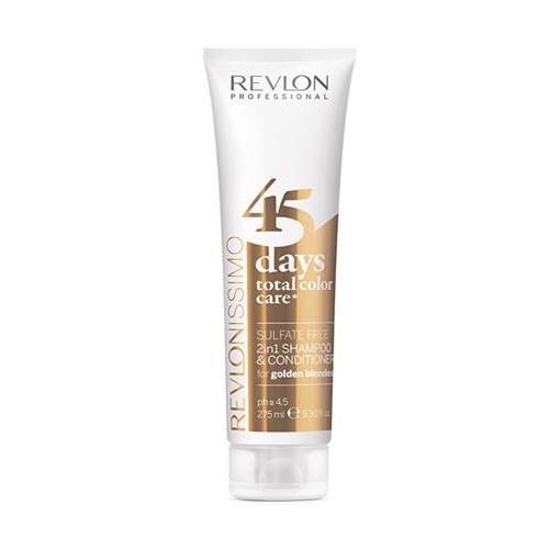 Revlon 45 Days Color Shampoo & Conditioner Golden Blondes 275 ml