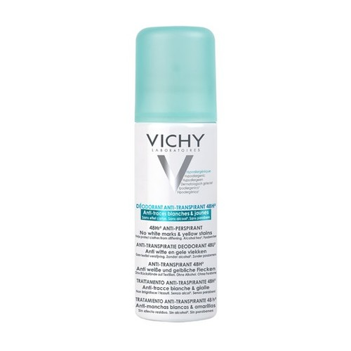 Vichy 48H Anti-Transpirant Anti-Traces 125 ml