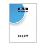 Nielsen Accent 30x40 aluminium zilver mat 52424