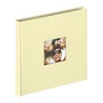 Fotoalbum Walther Fun creme 18x18 30 zwarte pagina's boek FA199H