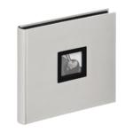 Walther Black & White 27x26 boekalbum grijs FA209D
