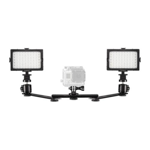 Mantona lichtset duo voor GoPro