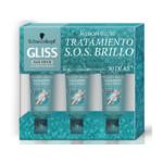 Schwarzkopf Gliss Million Gloss SOS Shining Treatment 3 x 20 ml
