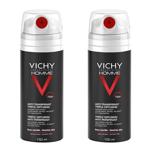 Vichy Homme Anti-transpirant Triple Diffusion Deodorant