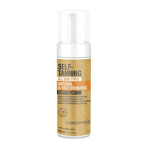 Comodynes Self Tanning Natural & Uniform Body Color Mousse