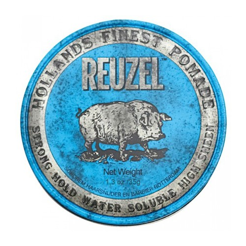 Reuzel Strong Hold Heavy Sheen Pomade Blue