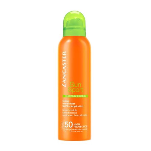 Lancaster Sun Sport Cooling Invisible Mist Wet Skin Application Spray