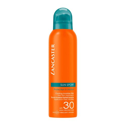 Lancaster Sun Sport Cooling Invisible Mist Wet Skin Application Spray SPF 30