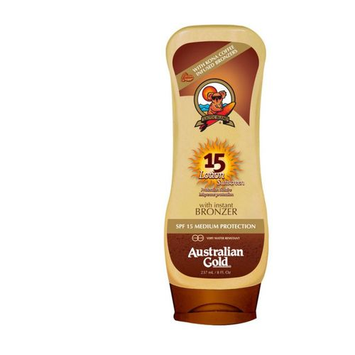 Australian Gold Sunscreen Lotion with Bronzer 237 ml SPF 15