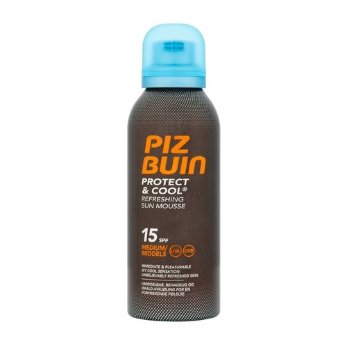 Piz Buin Protect & Cool Refreshing Sun Mousse 150 ml SPF 15