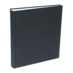 Deknudt fotoalbum linnen zwart 30x33 100 pagina's A10D20100SI