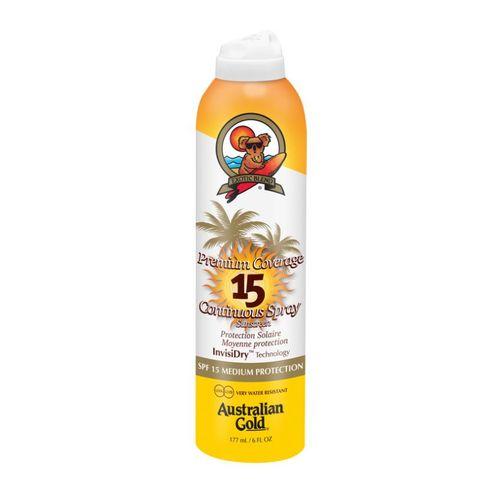 Australian Gold Premium Coverage Continuous Spray SPF 15