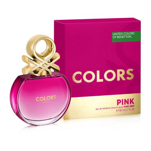 Benetton Colors de Benetton Pink for woman Eau de toilette 80 ml