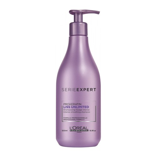 L'Oreal Serie Expert Liss Unlimited Shampoo 500 ml