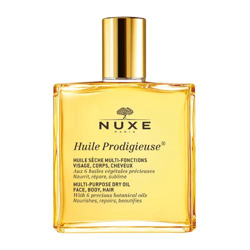 NUXE Huile Prodigieuse Multi Purpose Dry Oil Face Body Hair Spray 50 ml