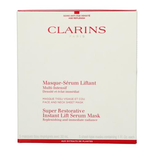 Clarins Super Restorative Instant Lift Serum Mask 5 pièces