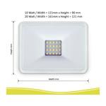 ELRO LF501011 LED Slim Design 10W 900lm