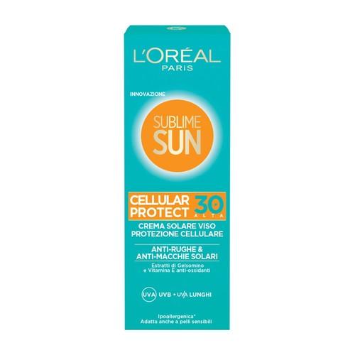 L'Oreal Sublime Sun facial cellular protect SPF 30