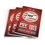 PSV since 1913 rood A5 gelijnd 3-pack