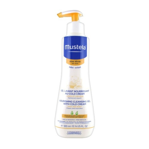 Mustela Nourishing Cleansing Gel cold cream 300 ml
