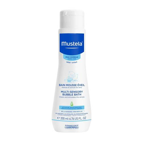 Mustela Bebe Multi-sensory Bubble Bath 200 ml