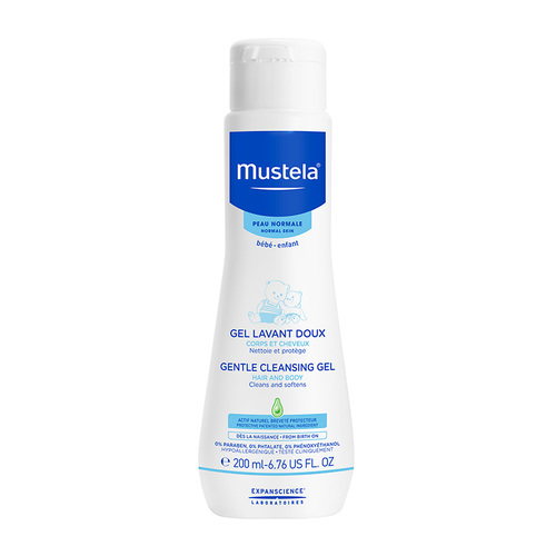 Mustela Bebe Gentle Cleansing Gel 200 ml