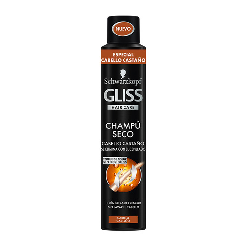 Schwarzkopf Gliss Hair Care Brown Hair Dry Shampoo 200 ml