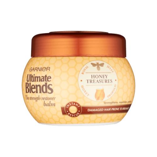 Garnier Ultimate Blends Honey Treasures Strengthening Mask 300 ml