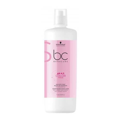 Schwarzkopf BC Color Freeze pH 4.5Sulfate Free Shampoo 1.000 ml