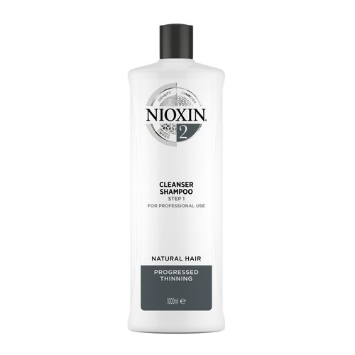 Nioxin System 2 Cleanser Shampoo 1.000 ml