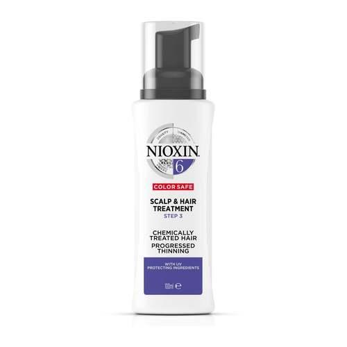 Nioxin System 6 Scalp & Hair Treatment Color Safe 100 ml