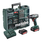 Metabo BS14,4LI Accuboormachine 14,4V 2,0Ah Li-Ion
