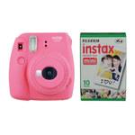 Fujifilm instax mini 9 set pink