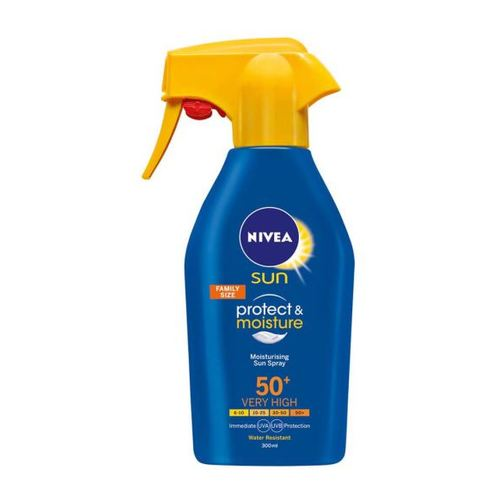 Nivea Sun Protect & Moisture Spray 300 ml SPF 50+