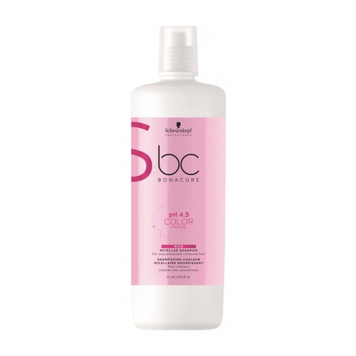 Schwarzkopf BC PH 4.5 Color Freeze Rich Micellar Shampoo 1.000 ml