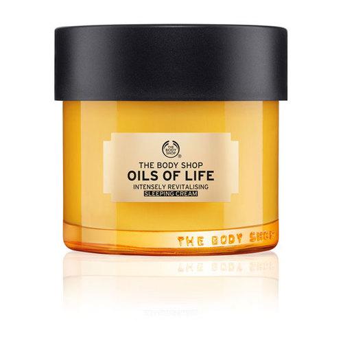 The Body Shop Oils Of Life Sleeping Cream 80 ml